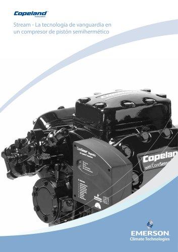 Stream - La tecnología de vanguardia en un compresor de pistón semihermético
