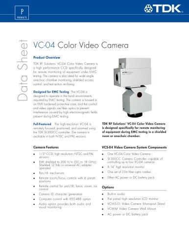 Color Video Camera