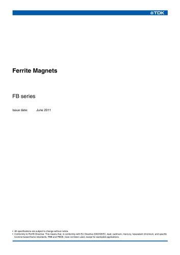 Ferrite Magnets FB