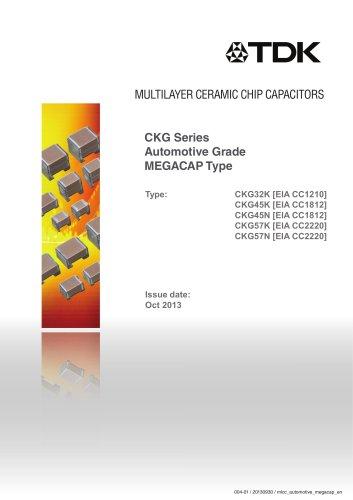 Multilayer Ceramic Chip Capacitor design with 2 L-shape leadframes