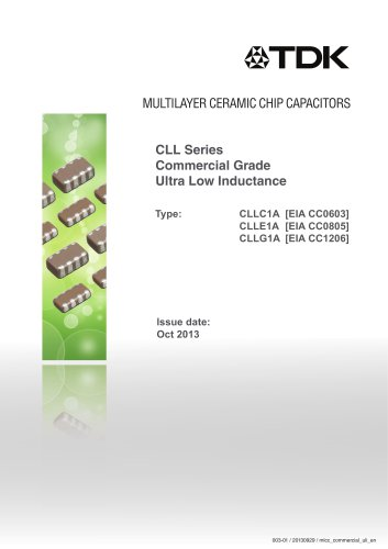 Multilayer Ceramic Chip Capacitor with multiple terminal electrodes and unique internal design to lower ESL
