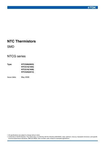 NTC Thermistors SMD