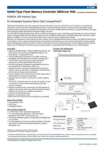 PCMCIA, Parallel ATA(PATA) Interface Type RA6
