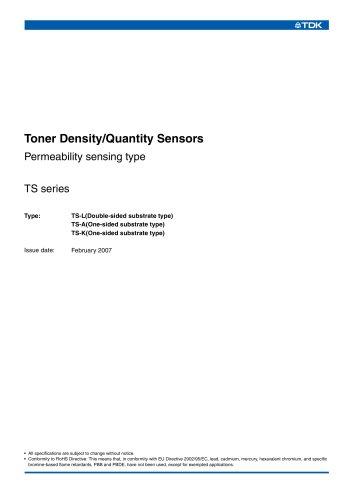 Permeability Sensing Type TS-L, TS-A, TS-K
