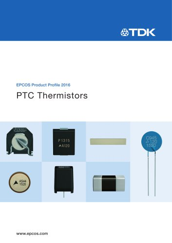 PTC Thermistors