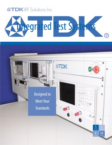 RF Integrated Test Systems