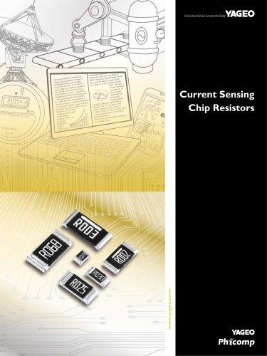Current Sensing Chip Resistors