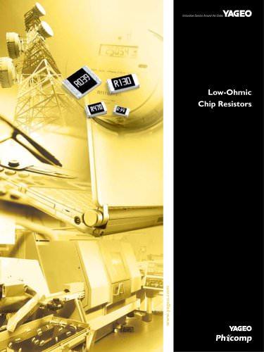 Low-Ohmic Chip Resistors