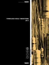 Through-Hole Resistors 2013