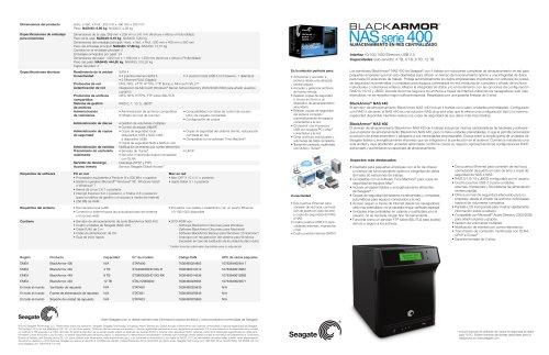 BlackArmor NAS 440