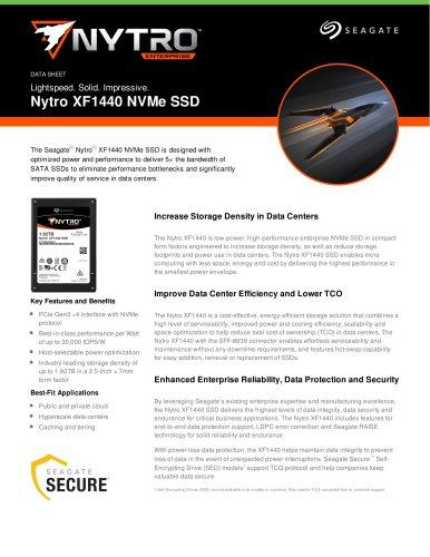 Nytro XF1440 NVMe SSD