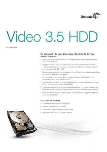 Video 3.5 HDD