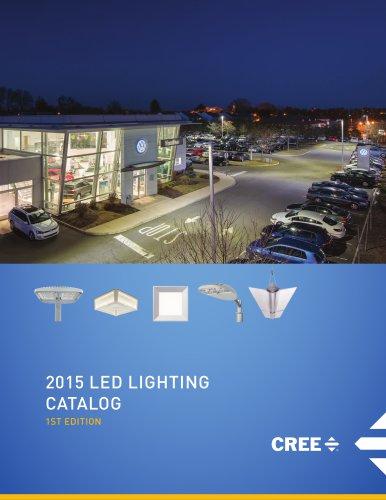 2015 LED LIGHTING  CATALOG