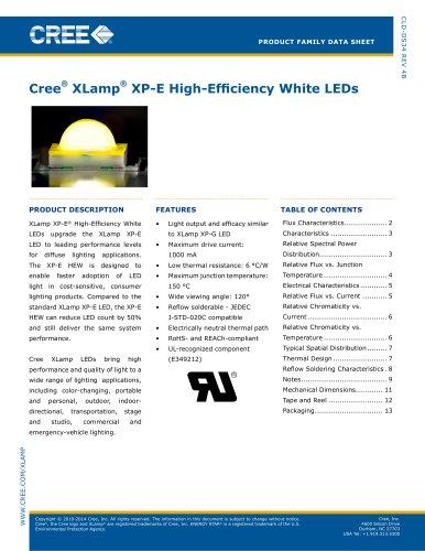 XP-E High-Efficiency White