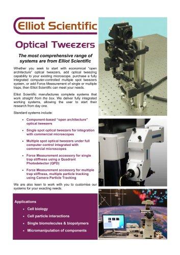 Optical Tweezers Brochure
