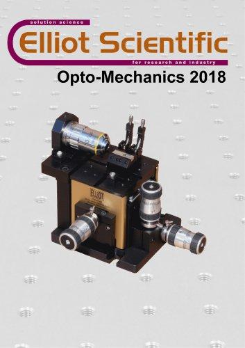 Opto-Mechanics Catalogue 2018