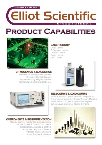 Product Capabilities
