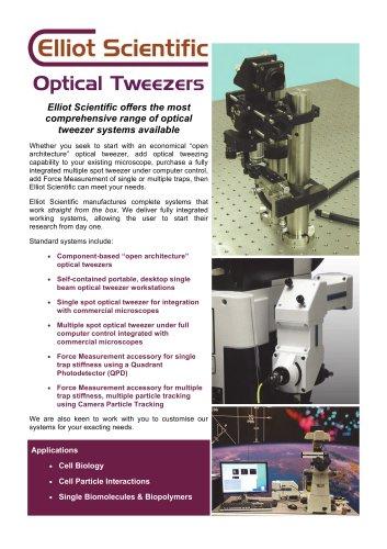 The Elliot Scientific Optical Tweezer Range