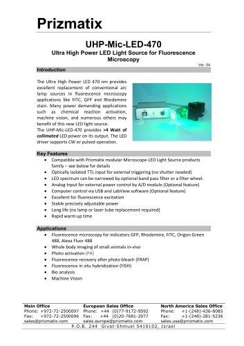 UHP-Mic-LED-470
