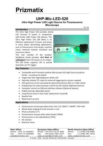 UHP-Mic-LED-520