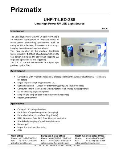 UHP-T-LED-385