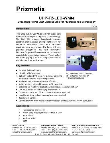 UHP-T2-LED-White
