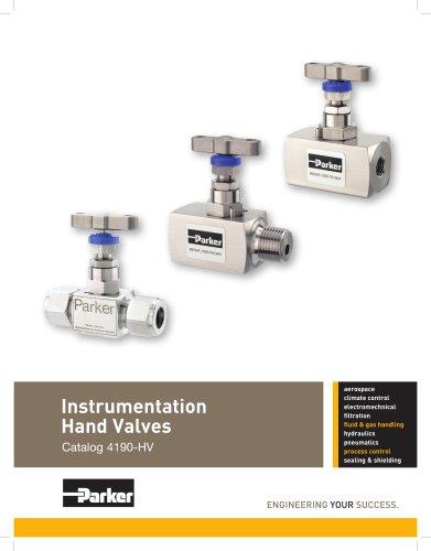 Instrumentation Hand Valves