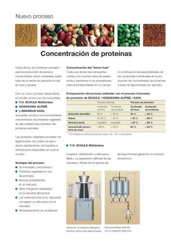 Concentración de proteínas