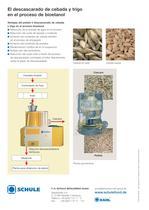 El descascarado de cebada y trigo en el proceso de bioetanol - 2