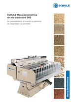 Máquinas clasificadoras - Mesa densimétrica de alta capacidad TH3 - 1