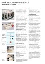 Máquinas clasificadoras - Mesa densimétrica de alta capacidad TH3 - 2