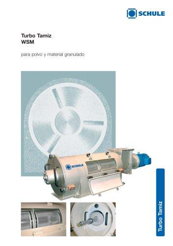 Máquinas clasificadoras: Turbo Tamiz WSM