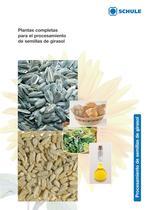 Plantas completas para el procesamiento de semillas de girasol - 1