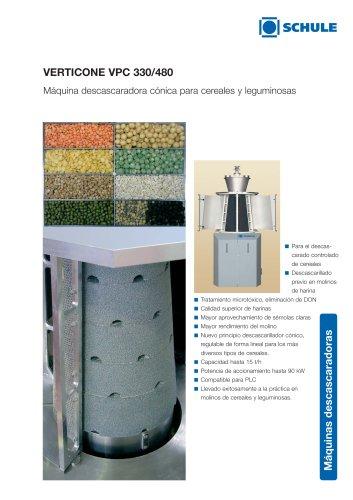 VERTICONE Máquina descascaradora cónica para cereales y leguminosas