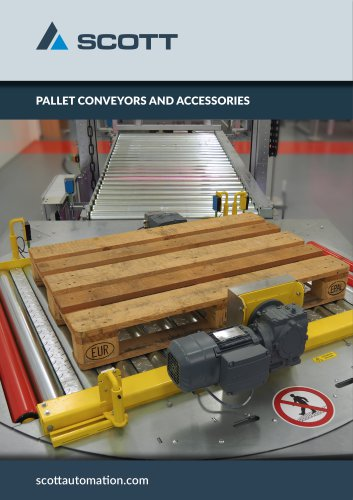 Pallet conveyors and accessories