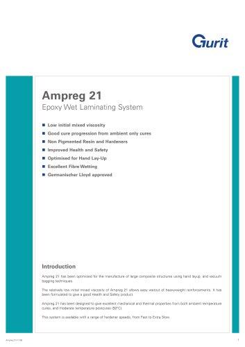 Ampreg 21 - Epoxy Wet Laminating System (v7)