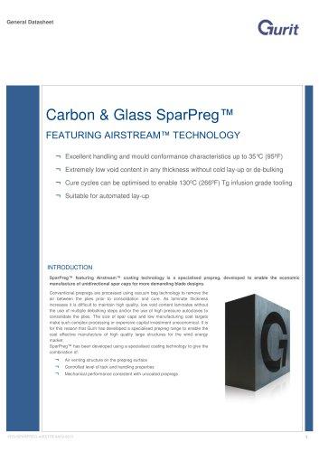 Carbon & Glass SparPreg