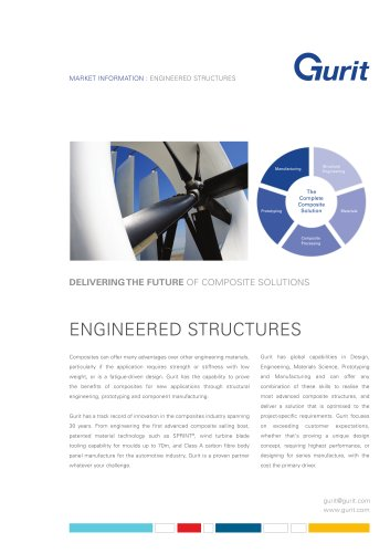 Engineered Structures Market Summary from Gurit