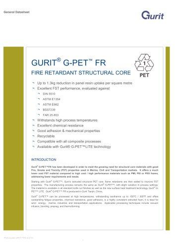 GURIT® G-PET™ FR
