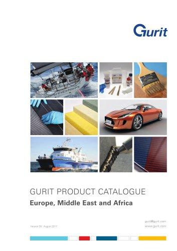 Gurit Product Catalogue EMEA Region (2017) v28