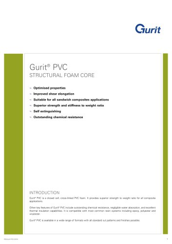 Gurit® PVC - Structural Foam Core (v2)