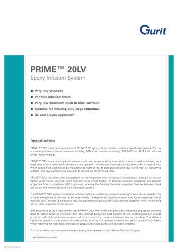 PRIME 20LV - Epoxy Infusion System (v10)