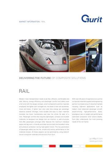 Rail Market Summary from Gurit