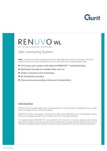 RENUVO Wet Laminating System WL (v2)