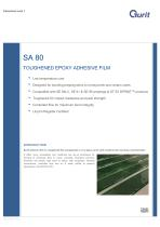 SA 80 Toughened Low Energy Cure Epoxy Adhesive Film (v11)