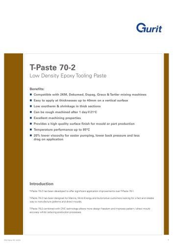 T-Paste 70-2 - Low Density Epoxy Tooling Paste (v3)