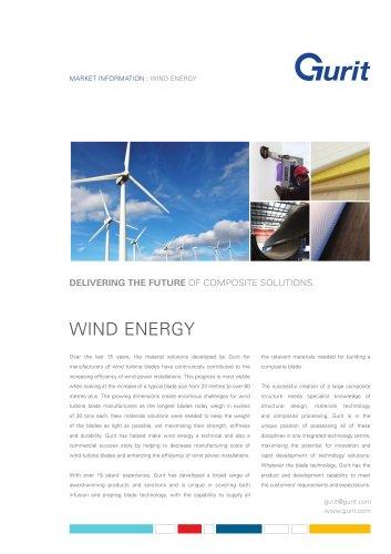 Wind Energy Market Summary from Gurit