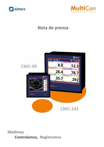 MultiCon = Indicador + Controlador + Registrador + HMI, todo en uno