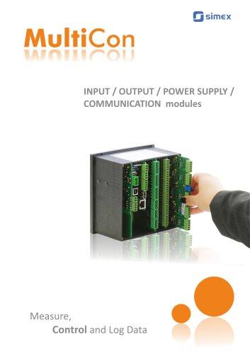 MultiCon modules catalogue V1.14.071