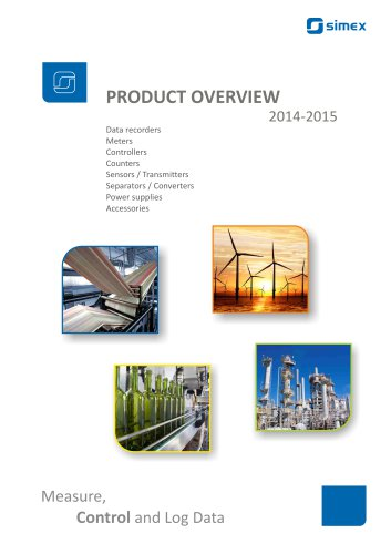 SIMEX Product Overview 2014